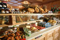 Buffet breakfast at the hotel garni La roccia